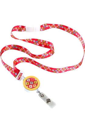 Clearance ID Avenue Ribbon Lanyard with Badge Reel