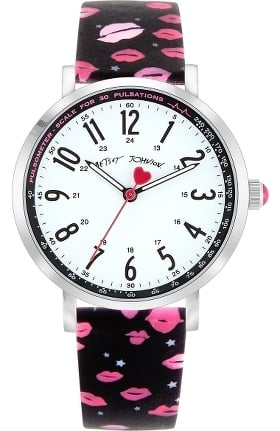 Betsey Johnson by koi Women's Printed Lips Surgical Grade Watch