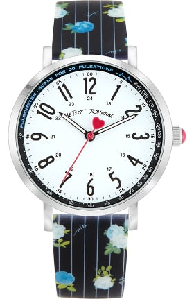 Betsey Johnson by koi Women's Stripes and Roses Surgical Grade Watch