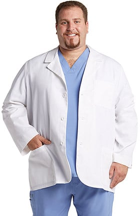 "Professional Whites by Cherokee MED MAN Consultation 31"" Lab Coat"