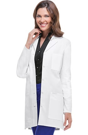 "Clearance Professional Whites by Cherokee Women's Stylish 32"" Lab Coat"
