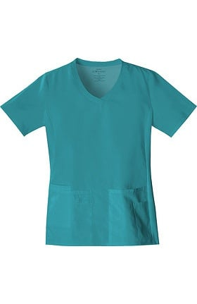 Clearance Flexibles by Cherokee Women's V-Neck Solid Scrub Top