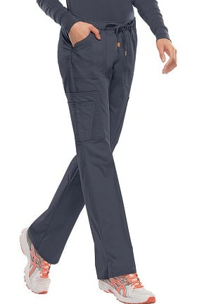 Clearance heartsoul Women's Charmed Low Rise Cargo Scrub Pant