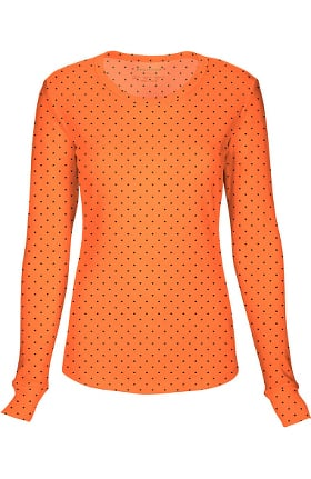 Clearance HeartSOUL Women's Round Neck Long Sleeve Love Print T-Shirt