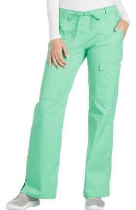 Clearance Luxe by Cherokee Women's Flare Leg Drawstring Scrub Pant
