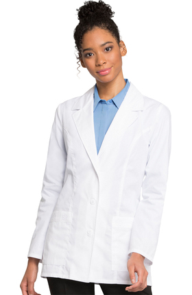 "Professional Whites by Cherokee Women's Daisy Embroidered 29½"" Lab Coat"