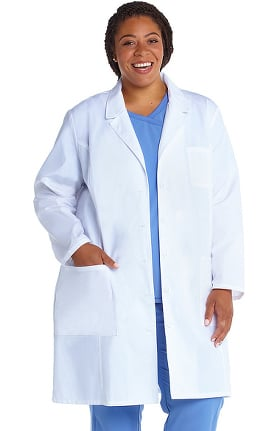 "Professional Whites by Cherokee Women's Consultation 37"" Lab Coat"