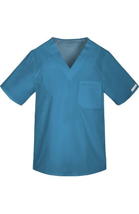 Clearance Flexibles by Cherokee Men's V-Neck Solid Scrub Top