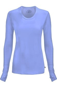 Infinity by Cherokee Women's Round Neck Long Sleeve Underscrub