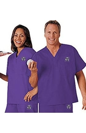 Clearance Cherokee Unisex Team Solid Scrub Top