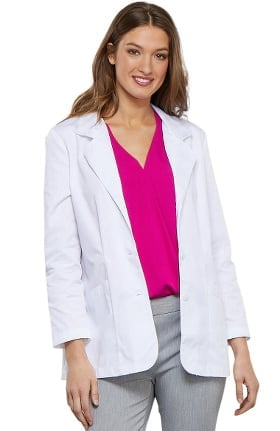 "Professional Whites by Cherokee Women's Shaped 30"" Lab Coat"