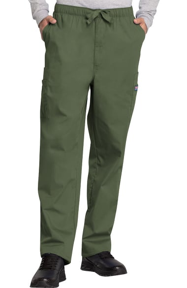 2633643280a Cherokee Workwear Originals Men's Drawstring Cargo Scrub Pant | allheart.com
