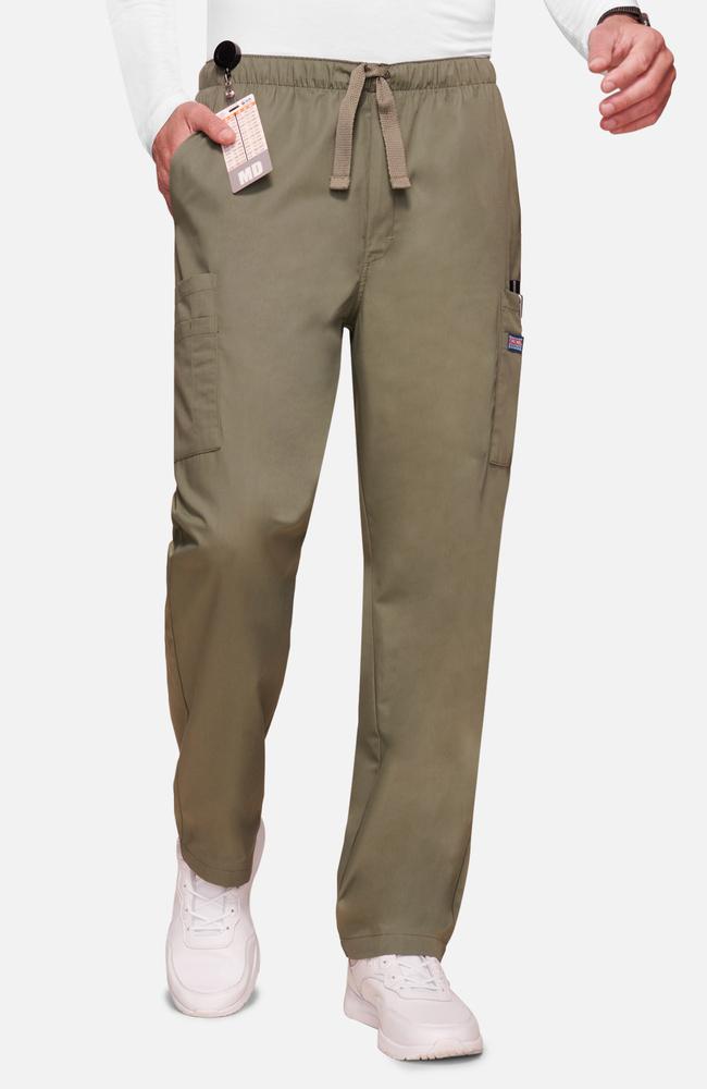 87f84086d8a Cherokee Workwear Originals Men's Drawstring Cargo Scrub Pant