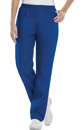 Cherokee Workwear Originals Women's Elastic Waist Pull-On Scrub Pants