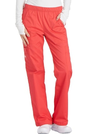 Core Stretch by Cherokee Workwear Women's Elastic Waist Scrub Pant