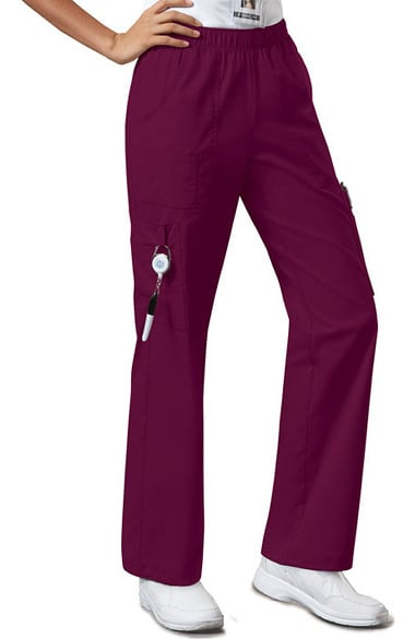ef0c916d6f9 Core Stretch by Cherokee Workwear Women's Elastic Waist Scrub Pant