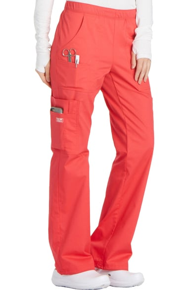 7e85a0e8bd2 Core Stretch by Cherokee Workwear Women's Elastic Waist Scrub Pant