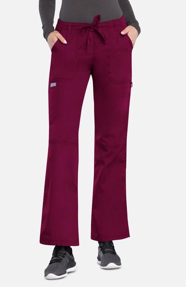 b7c634296fd Cherokee Workwear Originals Women s D-Ring Cargo Scrub Pants ...