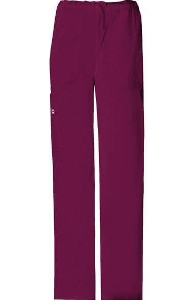 f8124f58bf6 Core Stretch by Cherokee Workwear Unisex Drawstring Cargo Scrub Pant