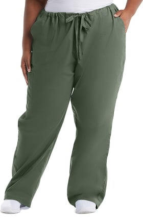 Core Stretch by Cherokee Workwear Unisex Drawstring Cargo Scrub Pant