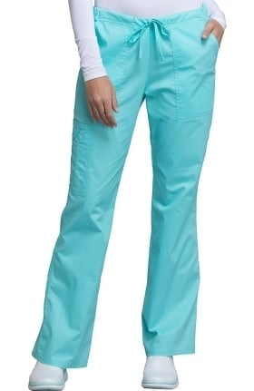 Clearance Core Stretch by Cherokee Workwear Women's Drawstring Scrub Pant