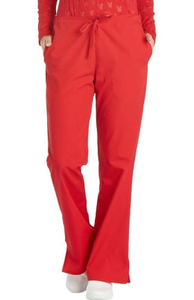 Cherokee Workwear Originals Women's Natural Rise Flare Leg Scrub Pants