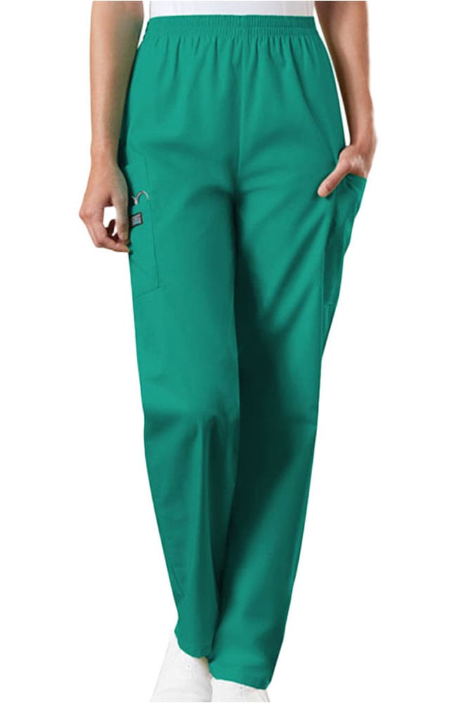 0f5832fb913 Cherokee Workwear Originals Women's Scrubs Elastic Waist Utility Scrub Pants