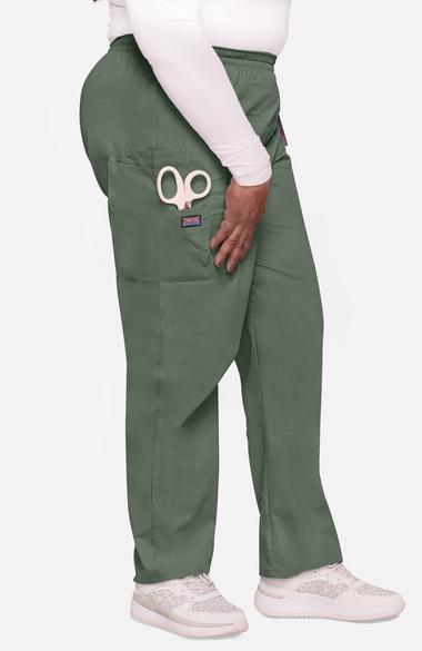 9c0f6fe63b8 Cherokee Workwear Originals Women's Scrubs Elastic Waist Utility Scrub Pants