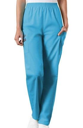 Cherokee Workwear Originals Women's Scrubs Elastic Waist Utility Scrub Pants