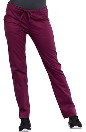 Core Stretch by Cherokee Workwear Women's Mid Rise Skinny Leg Scrub Pant