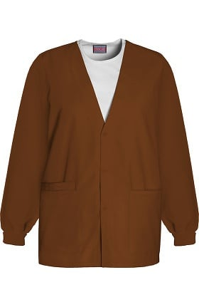 Clearance Cherokee Workwear Originals Women's V-Neck Solid Scrub Jacket