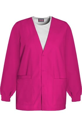 Clearance Cherokee Workwear Originals Women's V-Neck Solid Scrub Jacket