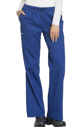 WW Flex by Cherokee Workwear Women's Mid-Rise Moderate Flare Scrub Pant