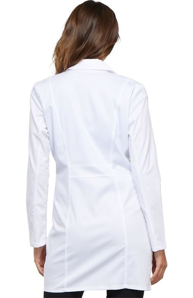 4439 Cherokee Women/'s New Workwear Long Sleeve Button Front New Lab Coat