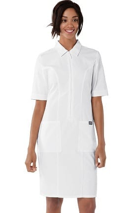 Cherokee Workwear Originals Women's Zip Front Scrub Dress