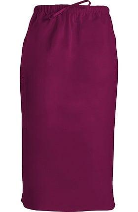 """Cherokee Workwear Originals Women's Drawstring 30"""" Scrub Skirt"""