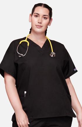 377ac82fee4 Black Scrubs - Women's Quality Scrub Pants, Tops & Jackets | allheart