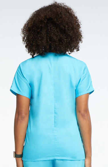 Cherokee Workwear Originals Women S V Neck 2 Pocket Solid