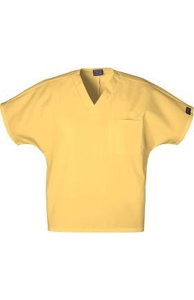 Clearance Cherokee Workwear Originals Unisex V-Neck 1-Pocket Solid Scrub Top