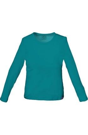 Clearance Core Stretch by Cherokee Workwear Women's Long Sleeve Underscrub
