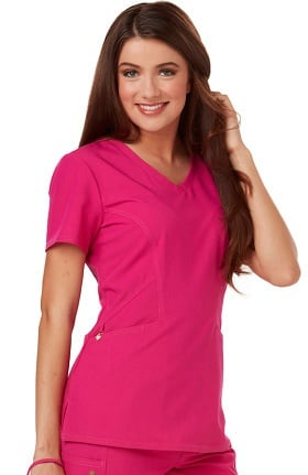 e4a1f8f6e0d Clearance Careisma by Sofia Vergara Women's Sofia V-Neck Solid Scrub Top