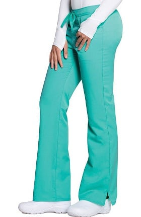 Clearance Cloud Nine by code happy Women's Mid Rise Mod Flare Leg Pant