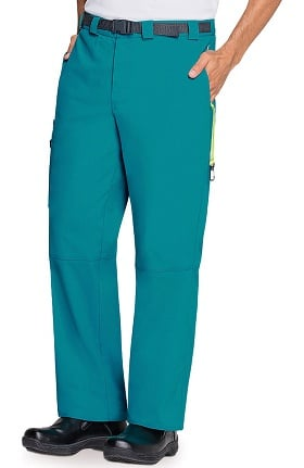 Clearance code happy Men's Straight Leg Belted Cargo Pant