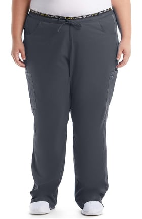 Luxe by Cherokee Women's Logo Elastic Waist Scrub Pant