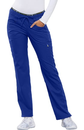 Clearance Luxe by Cherokee Women's Logo Elastic Waist Scrub Pant