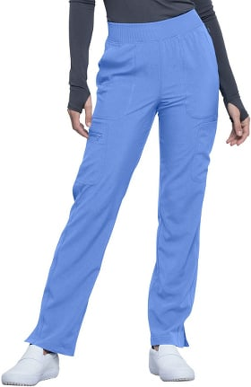 Infinity by Cherokee Women's Mid Rise Tapered Leg Pull-On Scrub Pant