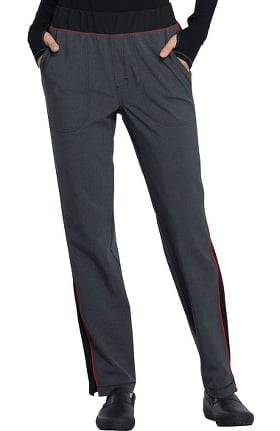 Clearance Infinity by Cherokee Women's Mid Rise Slim Leg Pull-On Scrub Pant