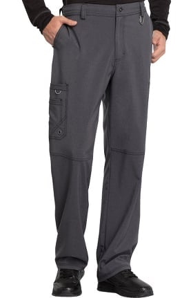 Clearance Infinity by Cherokee Men's Zip Fly Cargo Scrub Pant