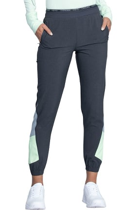 Infinity by Cherokee Women's Color Block Jogger Scrub Pant