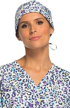 Cherokee Women's Animal Print Scrub Hat